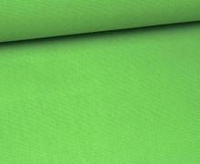 Canvas Stoff - feste Baumwolle - Uni - 145cm - Froschgrün
