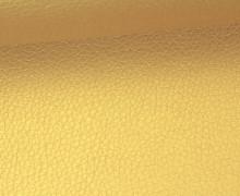 Kunstleder - Fashionstoff - Nappa - Uni - 140cm - Gold