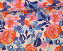 Stoff - Rosen - Voyage - Kate Spain - Pastellrosa