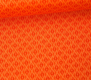 Stoff - Rauten - Voyage - Kate Spain - Orange