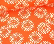 Stoff - Mandala - Voyage - Kate Spain - Orange