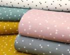 Feste Baumwolle - Dekostoff - Kleine Dreiecke - Triangles - Altrosa