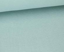 Glattes Bündchen - Uni - Schlauchware - Blaugrau