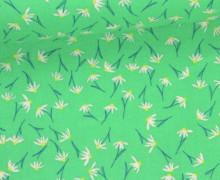 Stoff - Blümchen - Daisy Chain - Annabel Wrigley - Grün