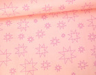 Stoff - Sterne - Linien - Daisy Chain - Annabel Wrigley - Rosa