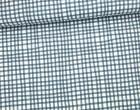 Stoff - Linien - Gitter - Daisy Chain - Annabel Wrigley - Dunkelblau