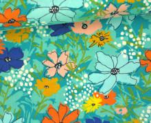Stoff - Blumen - Floral - Wild Nectar - Crystal Manning - Mint