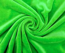 Nicki - Weich - Kuschelstoff - Uni - Grün