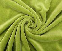 Nicki - Weich - Kuschelstoff - Uni - Schilfgrün