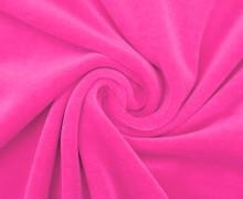 Nicki - Weich - Kuschelstoff - Uni - Pinkrosa
