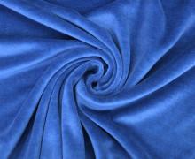 Nicki - Weich - Kuschelstoff - Uni - Royalblau