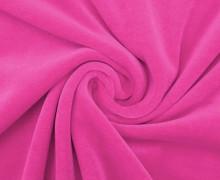 Nicki - Weich - Kuschelstoff - Uni - Pink