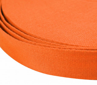 1m weiches Gurtband - 40mm - Orange