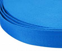 1m weiches Gurtband - 40mm - Meerblau