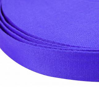 1m weiches Gurtband - 40mm - Blaulila