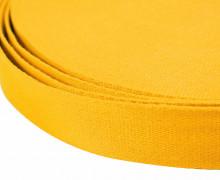 1m weiches Gurtband - 40mm - Gelb