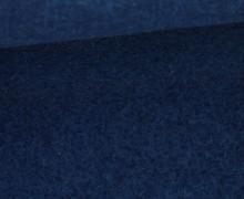 Wolle - Walkstoff - Dunkelblau
