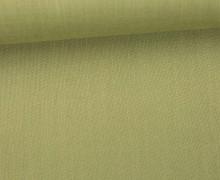 Blusenstoff mit leichter Struktur - Uni - Olivgrün