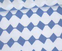Javanaise - kleine Rauten - Denim Days - Milliblus - Taubenblau