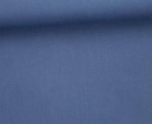 Viskose Twill - Uni - 145cm - Taubenblau Dunkel