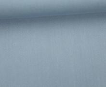Viskose Twill - Uni - 145cm - Blaugrau
