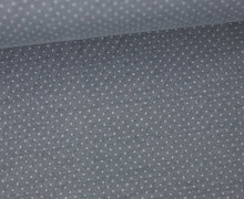 Jersey - Pünktchen - Punkte - Dots - 1mm - Color Love - Dunkelgrau/Grau