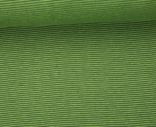 Jersey - Schlichte Streifen - 1mm - Color Love - Tannengrün/Grün