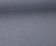 Jersey - Schlichte Streifen - 1mm - Color Love - Dunkelgrau/Grau