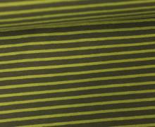 Jersey - Stripes - Streifen - Olivgrün/Grasgrün
