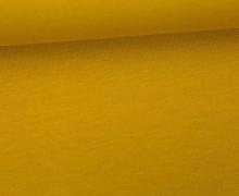 Organic Jersey - Uni - ca. 150cm - Senfgelb