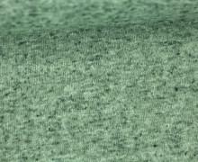 Jacquard Jersey - Uni - Transparenzy - Meliert - Pastellgrün