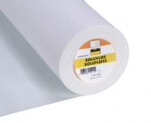 1 Meter Vlieseline - Soluvlies - Solufleece - Stickvlies - Freudenberg - Weiß