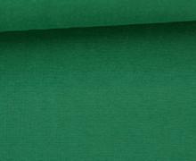 Glattes Bündchen - Uni - Schlauchware - Tannengrün