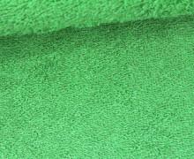 Frottee - Uni - 140cm - Grasgrün