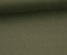 Fashionstoff - Wildlederoptik - Elastisch - 150cm - Dunkeloliv