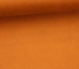 Fashionstoff - Wildlederoptik - Elastisch - 150cm - Rostorange