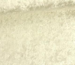 Samt - Pannesamt - uni - 150cm - Warmweiß