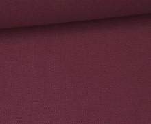 Canvas Stoff - feste Baumwolle - Uni - 145cm - Beere