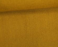 Canvas Stoff - feste Baumwolle - Uni - 145cm - Ocker