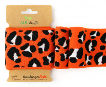 Bio-Bündchen - Leo Print - Icon - This Summer - Cuff Me - Hamburger Liebe - Orange
