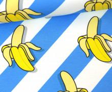 Sweat - We´re Going Bananas! - This Summer - Banane - Hamburger Liebe - Weiß/Hellblau