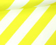 Sweat - Stripemania - This Summer - Streifen - Hamburger Liebe - Weiß/Gelb