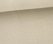 Organic Bündchen - Uni - Schlauchware - Beige