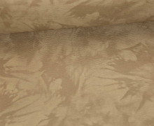 Kunstleder - 140cm - Kleckse - Braun