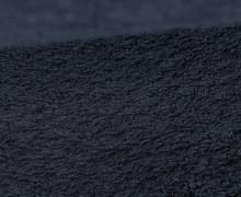 Frottee - Uni - 140cm - Schwarzblau