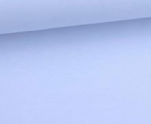 Organic Sommersweat - Uni - 150cm - Babyblau