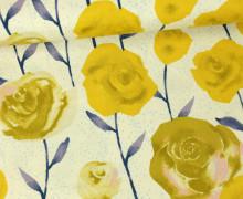 Stoff - Rosen - Blumen- Firelight - Sarah Watts - Natur