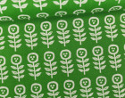 Feste Baumwolle - Little Flowers - Blumen - Grafisch - Tréfle - Kokka - Grün