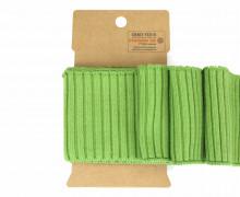 Bündchen - Boord Cuffs - Uni - Hellgrün