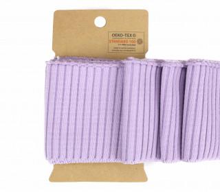 Bündchen - Boord Cuffs - Uni - Lavendel
